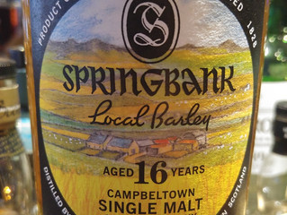 Springbank 16yo Local Barley- A Change of My Mind