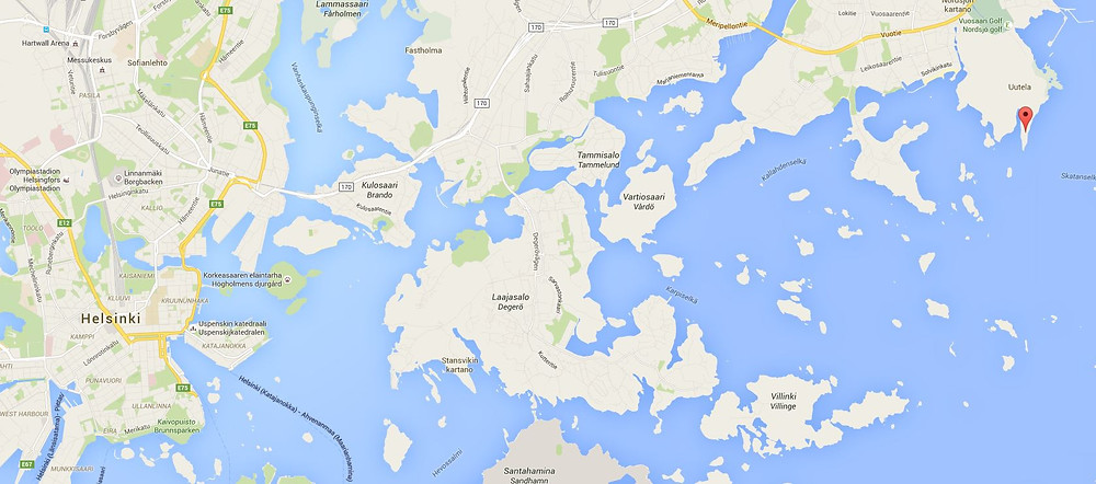 Red dot is the cape where I went
