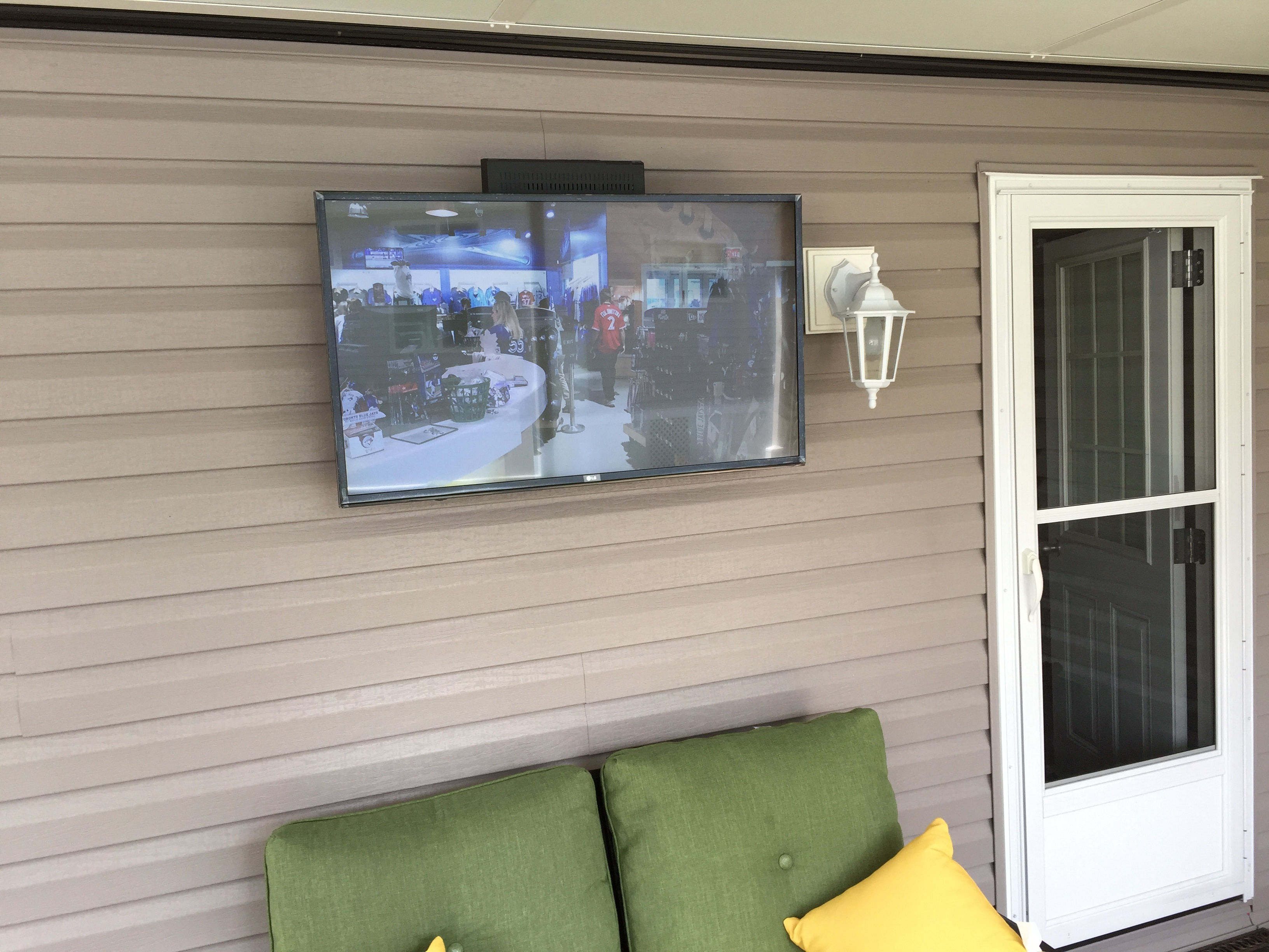 Sunroom TV