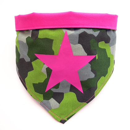 "Hundebandana ""pink Rebel"""