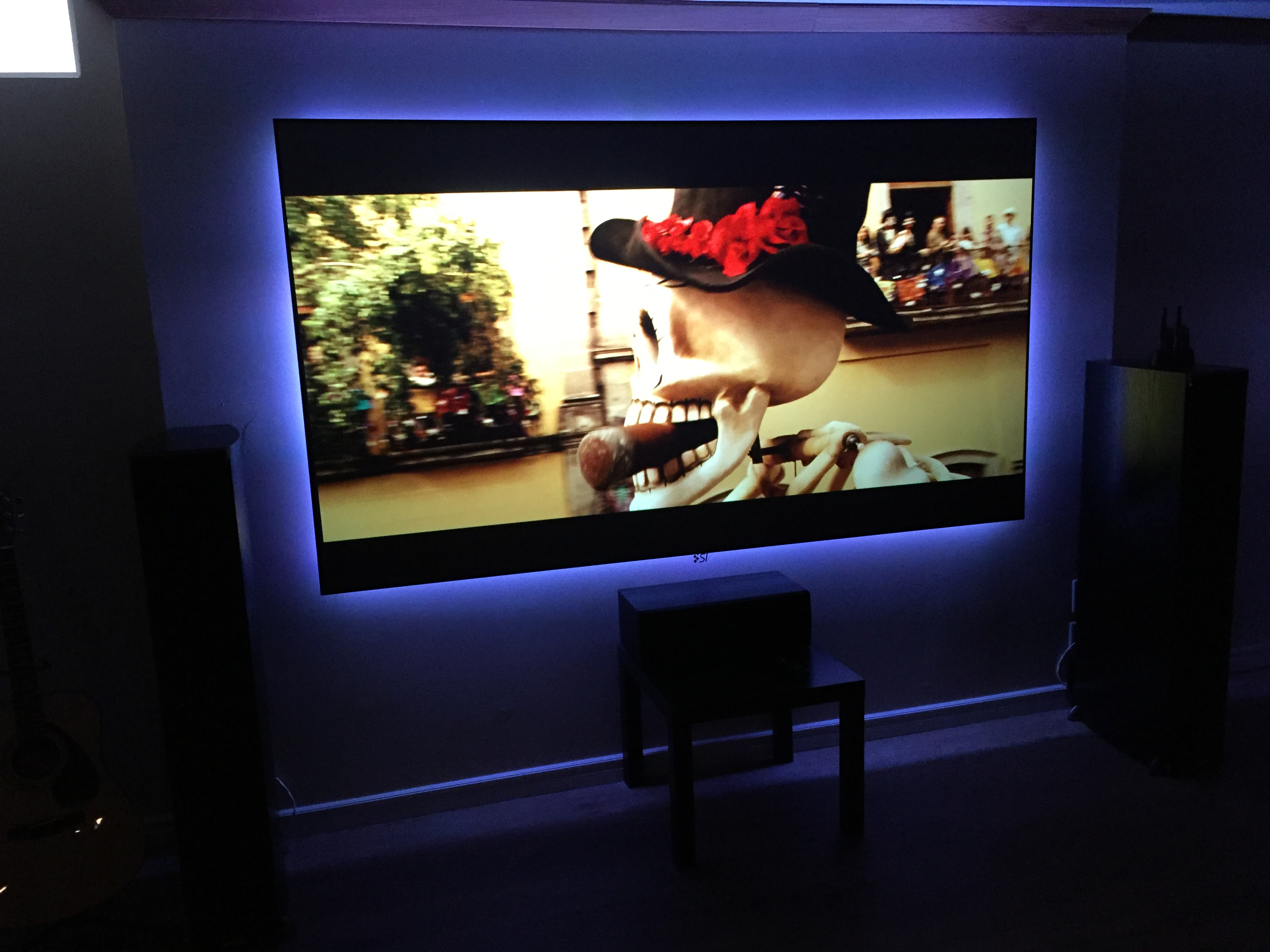 LED Backlit Home Theatre