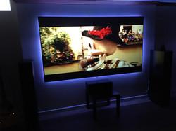 LED Backlit Home Theatre