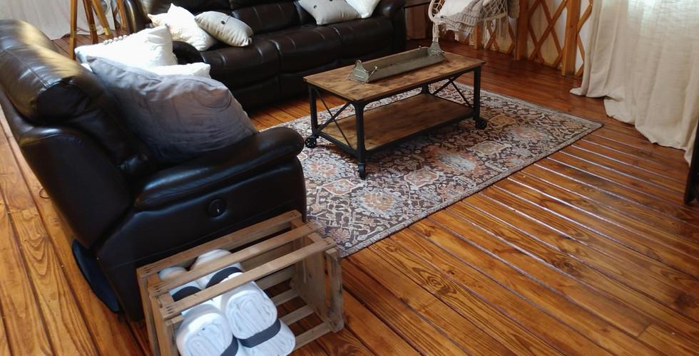 Yurt Living Room