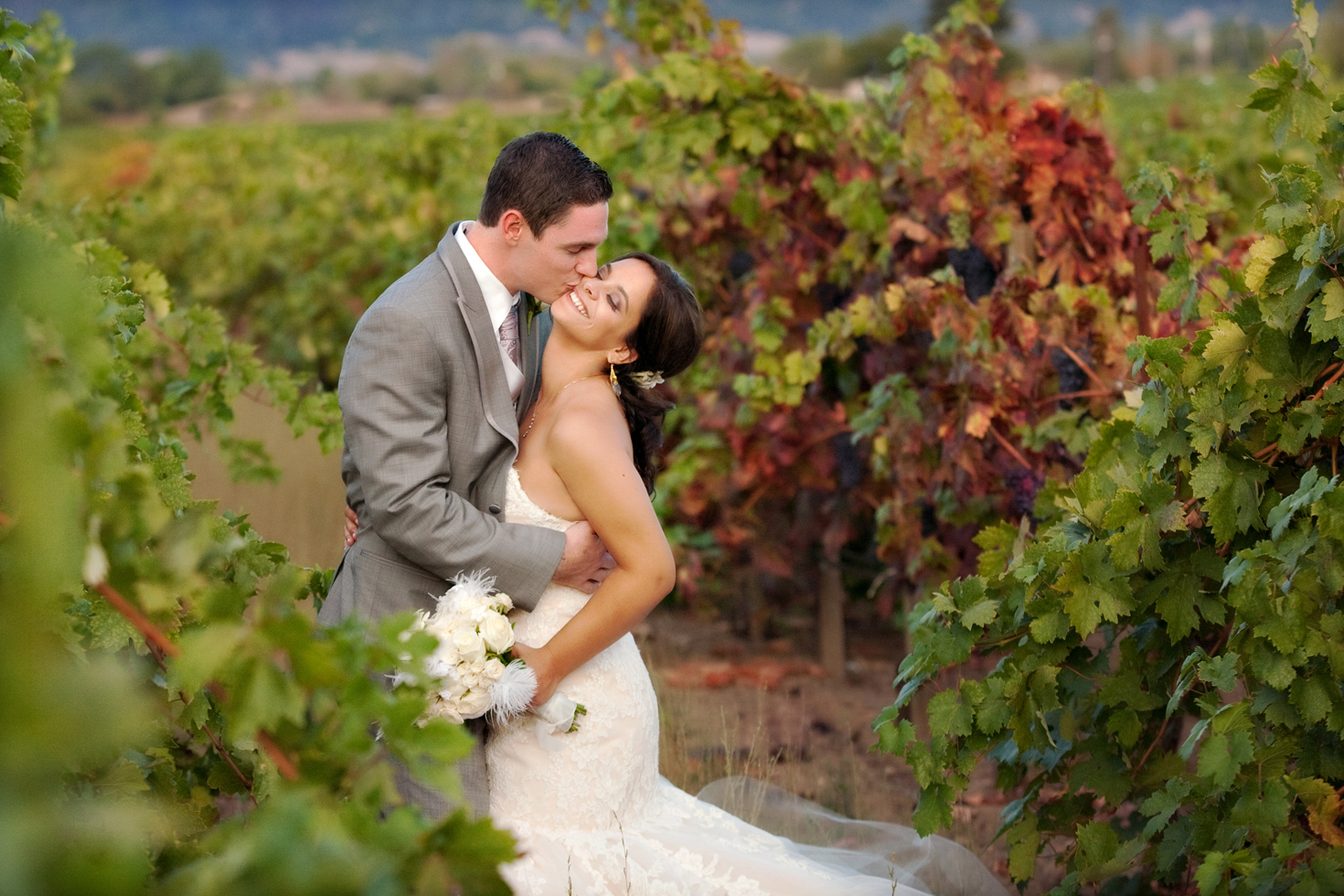 Wedding photography:Trentadue Winery