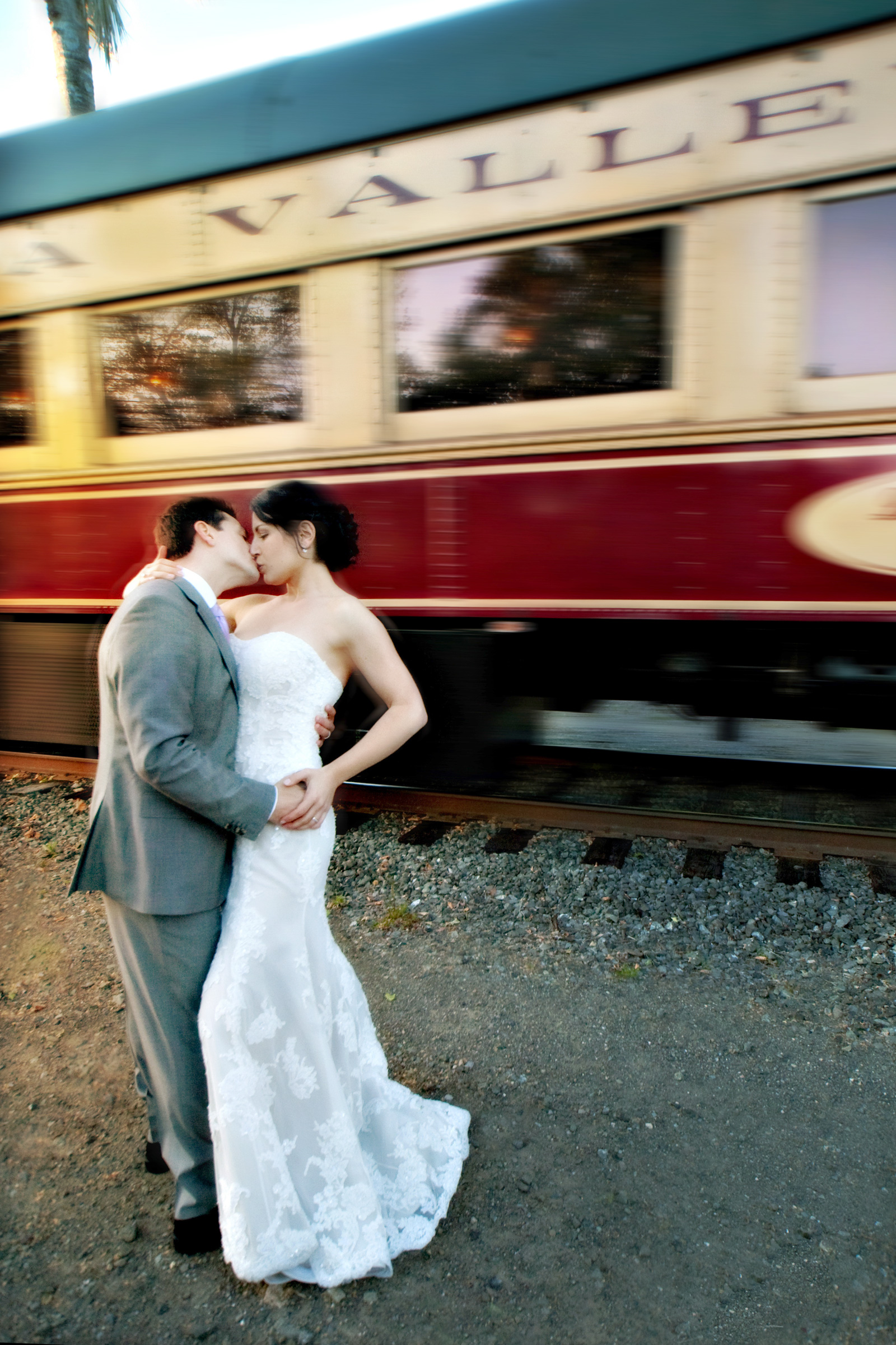 Wedding Photography-Wine Train, Napa