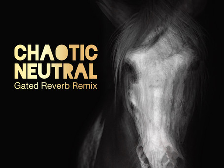 Watch the new Lyric Video for 'Chaotic Neutral (Gated Reverb Remix)' and revisit the iconic 80s!