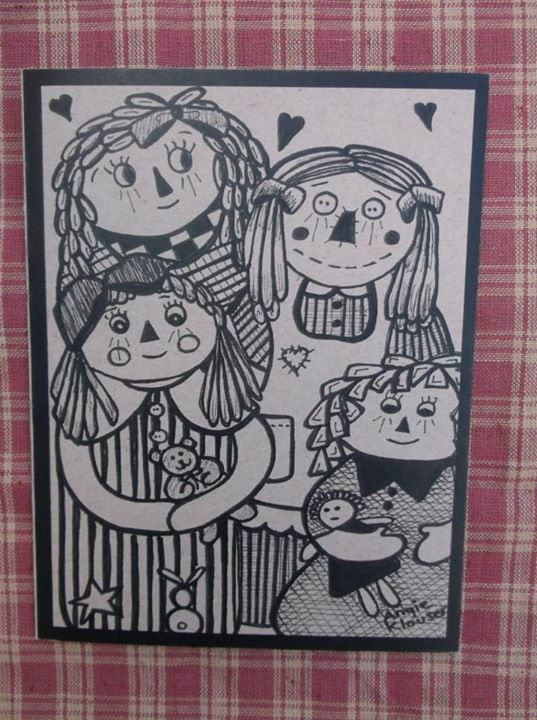 COUNTRY CUTIE DOLLS ... INK