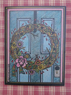 FRONT DOOR ... COLORED