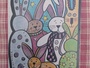 The Backwards Bunny introduces Their New Line of  Whimsical Country Greeting Cards