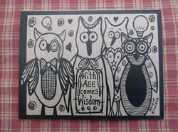 AWESOME OWLS ... INK