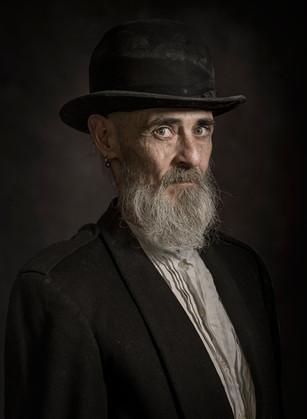 Keith - Post lock down bearded portrait.