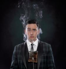 Paul Dabek, Magician.