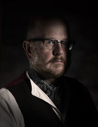 Kev Write - Post lock down bearded portrait.