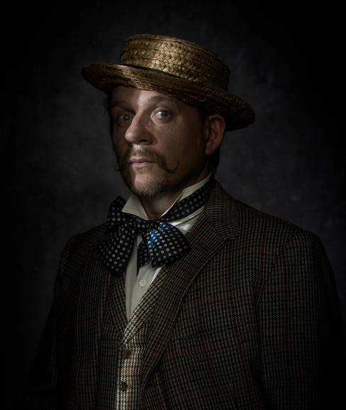Jake Rodrigues - Post  lock down bearded portrait.
