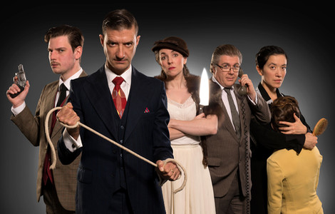 The cast of HITCH show