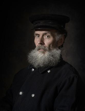 Frankie Agnew - Post lock down bearded portrait.