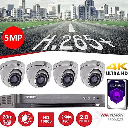 Hikvision 5mp CCTV System
