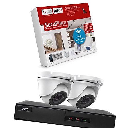 Wireless Alarm & 5mp; CCTV Package