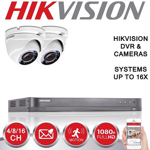 Hikviosn, 2mp,1080p, HD, CCTV System
