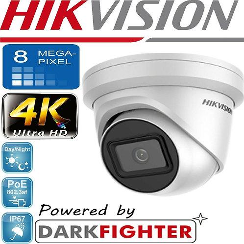 Hikvision 8 mp IP CCTV kit (4 or 8 Cameras) (poe) Darkfighter