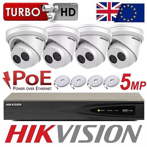 HikVision 5mp IP CCTV System