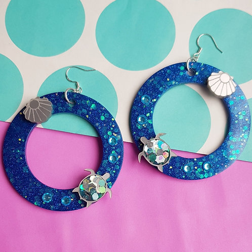 Under The Sea Hoop Earrings