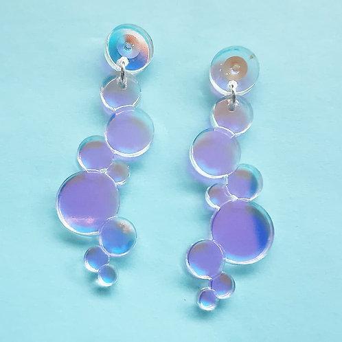 Cinderella bubble earrings