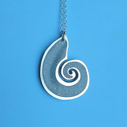 Glowing Shell pendant