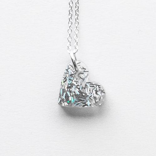 Small Heart Pendant Silver