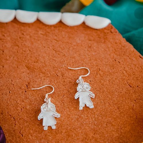 Hansel and Gretel earrings