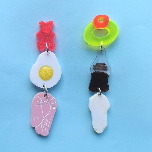 Pick n Mix earrings