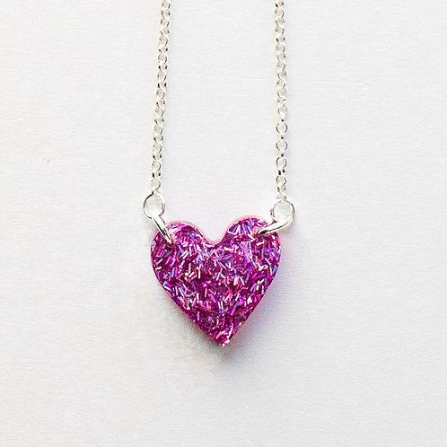 Heart Pendant Pink
