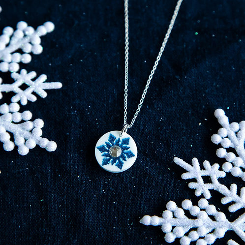 Let it glow pendant - small white