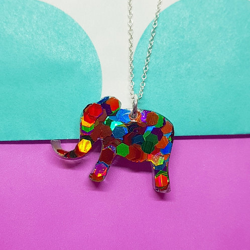 Nelly The Elephant Pendant