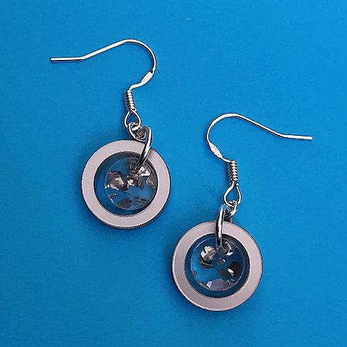 Mini orbital earrings