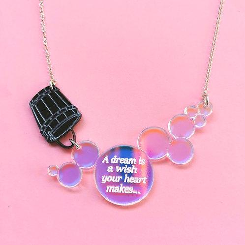 Cinderella bubble necklace