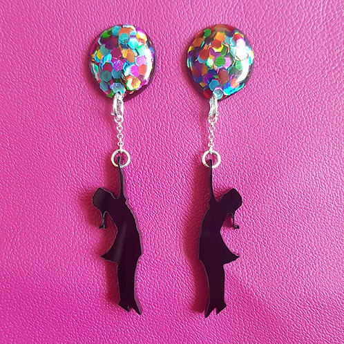 Balloon Girl Earrings