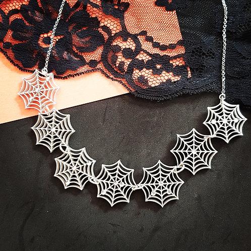 Webbed Necklace