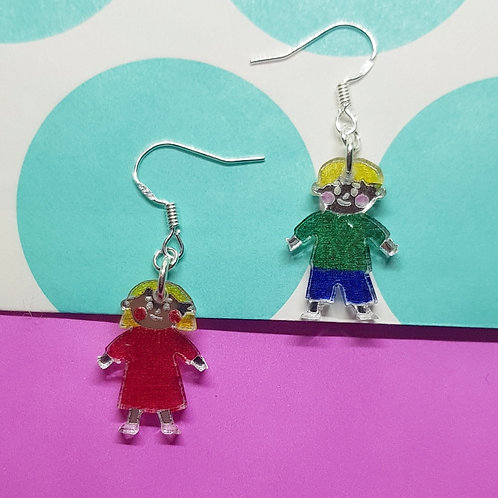 Hansel and Gretel Earrings
