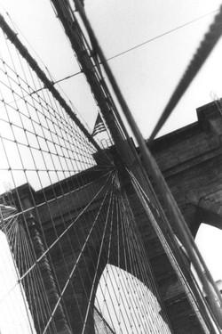 No meio da ponte