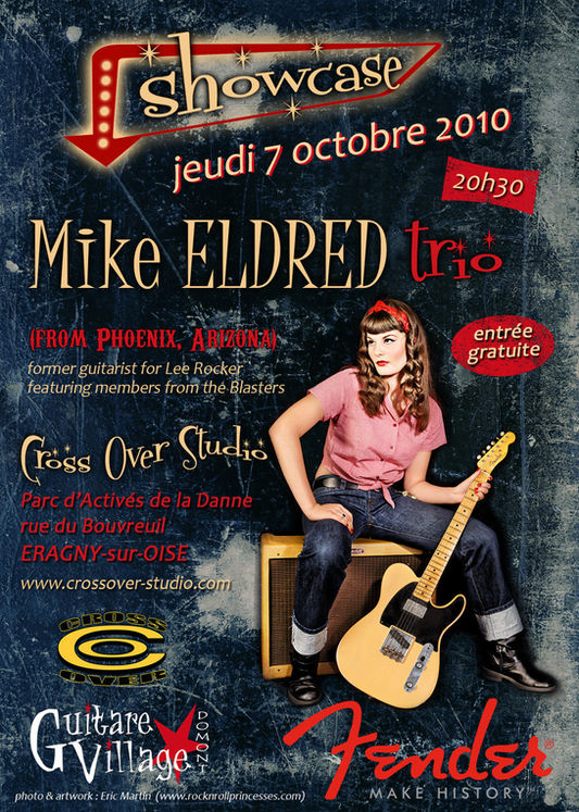 affiche show case 7 octobre 2010