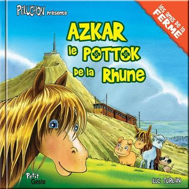 Azkar, le pottok de la Rhune