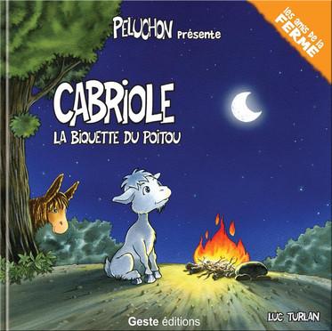 Cabriole, la biquette du Poitou