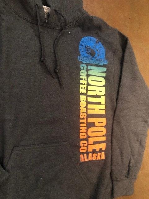 Unisex Grey NPC Colored Logo Sweatshirt