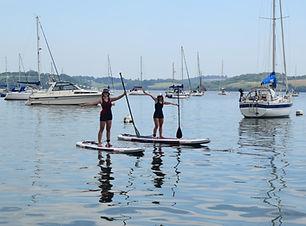 falmouth river watersports paddleboard yachts