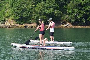 Falmouth River Watersports paddleboard