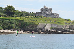 Falmouth River Watersports St Mawes castle English Heritage Paddleboard