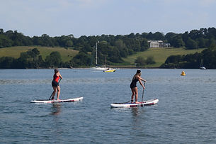 Falmouth River Watersports National Trust Trelissick House paddleboard