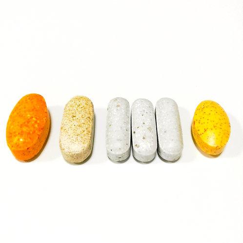 【ANS base Ⅲ】ビタミンB100、スーパーC、マルチミネラル(3粒)、アンチオキシダント