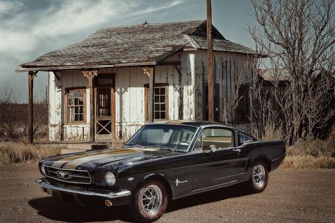 Oldtimer Ford Mustang 2+2 Fastback